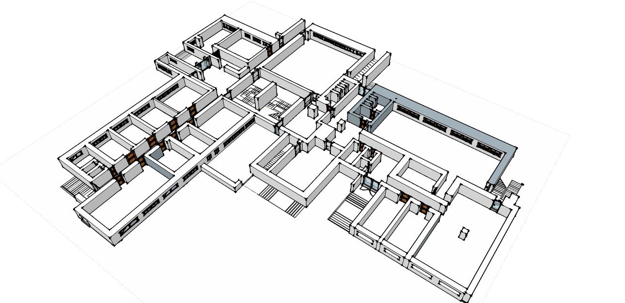 Mappa primo piano sede centrale