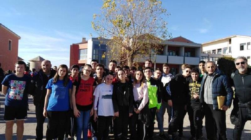 Studenti termolesi corrono all'alberghiero