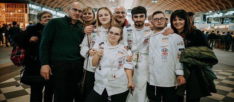 Un futuro da chef per Rossano e Ioana